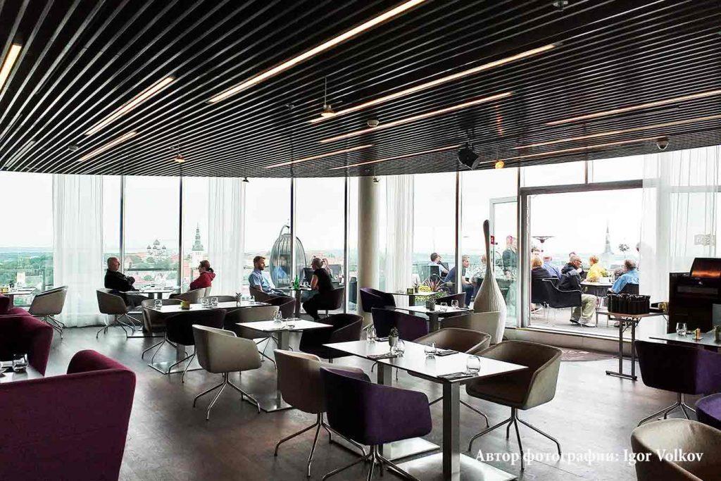 Ресторан Lounge 24 в Таллинне