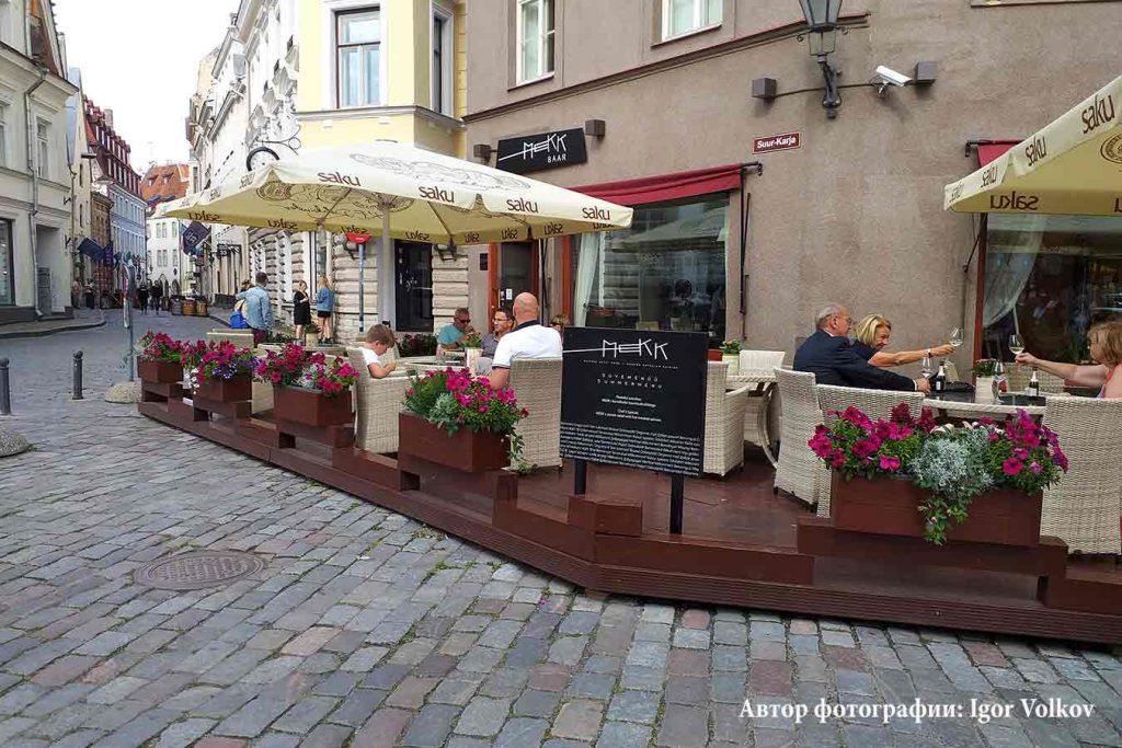 Ресторан MEKK в Таллинне