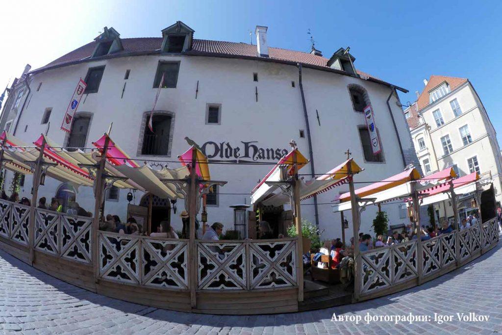 Ресторан Olde Hansa в Таллинне