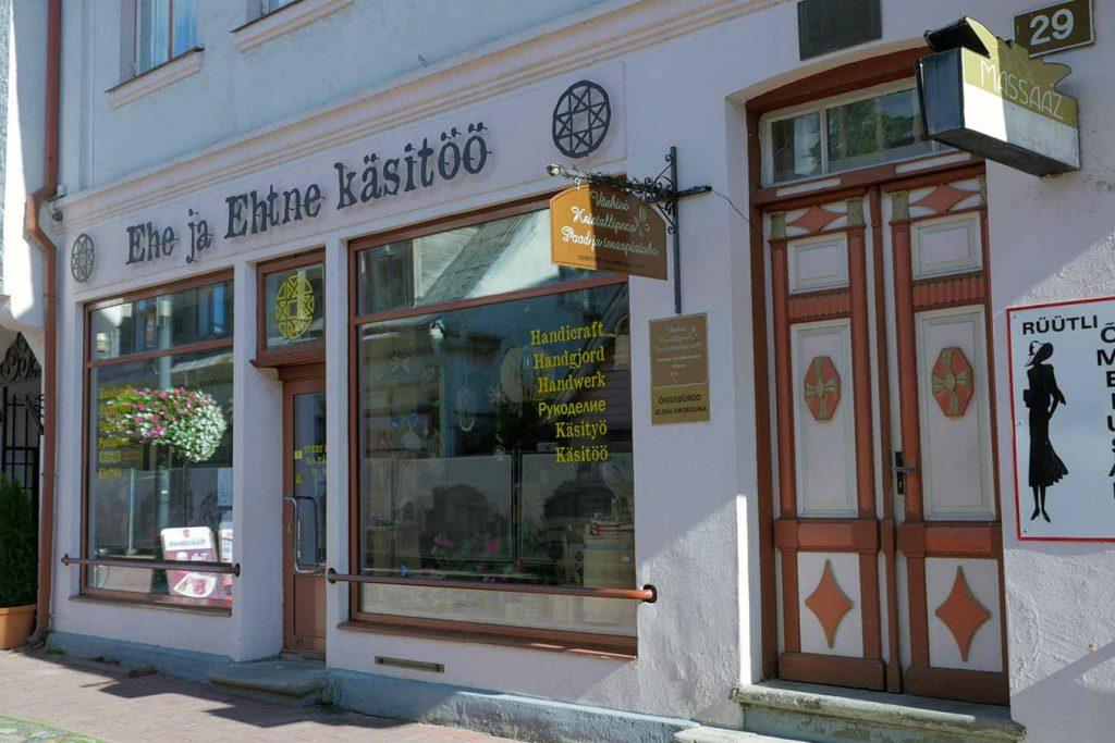 Магазин сувениров Ehe ja Ehtne käsitöö в Пярну