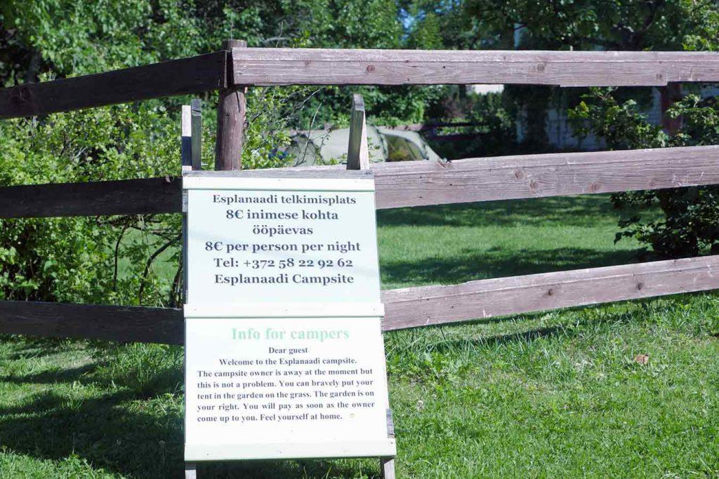 Кемпинг Esplanaadi в Пярну
