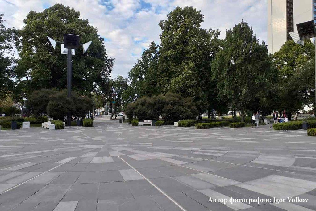 Парк Таммсааре в Таллинне