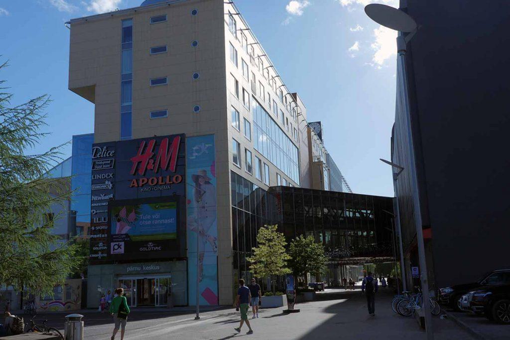 Торговый центр Кескус в Пярну