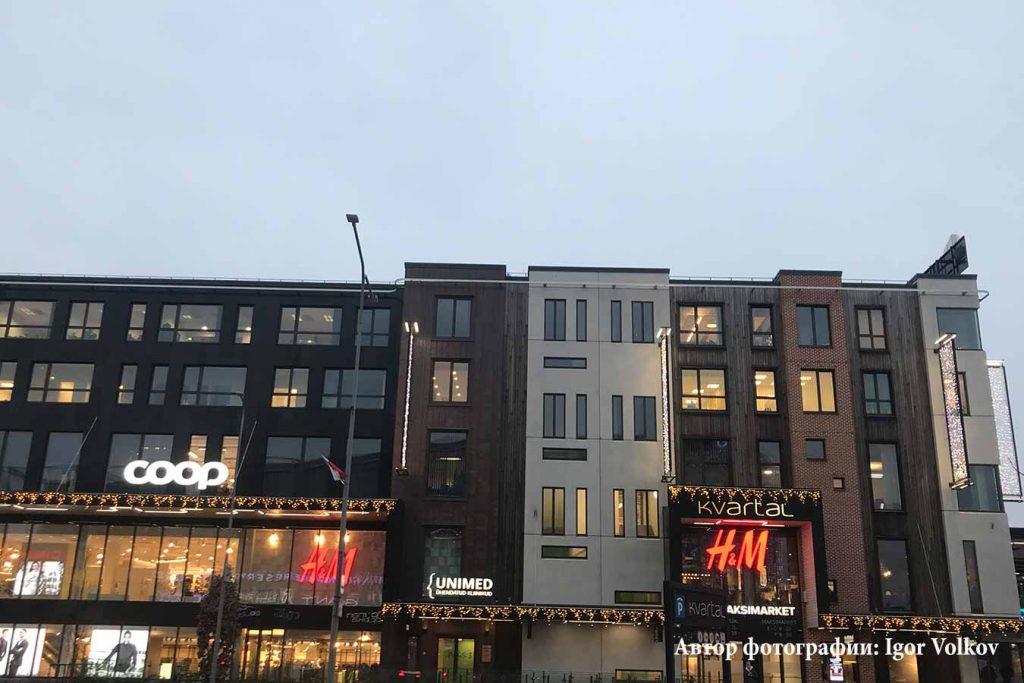 Торговый центр Квартал в Тарту