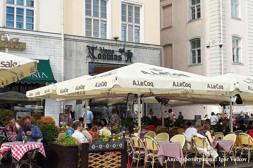 Ресторан Vana Toomas в Таллинне